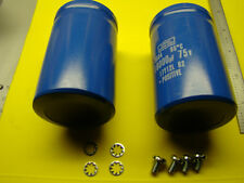 18000MFD 75VOLT NIPPON  CAPACITOR SET FOR HAFLER DH-200 DH-220 MANY OTHERS