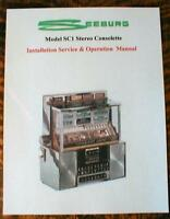 Seeburg Jukebox Model SC1 Stereo Consolette Wall Box  Manual