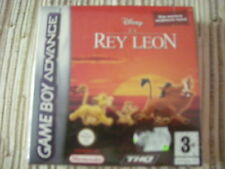 GAMEBOY ADVANCE/NINTENDO DS EL REY LEON LION KING ADVANCE PAL ESPAÑA NUEVO