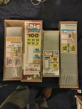 4 New Jar Ticket Games with over $440.00 Profit Single view Pull Tab Fundraiser