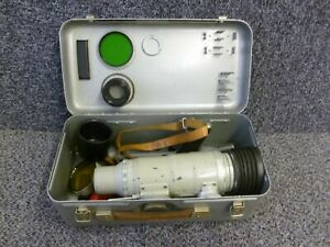Vintage Zenith Photosniper 300mm Lens in Metal Case