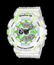 BA-110TX-7A White Casio Baby-G Ladies Watches Analog Digital Resin Band New