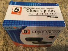 Zeikos ZE-CU77 Closeup Filter Set 77MM (5-Piece)
