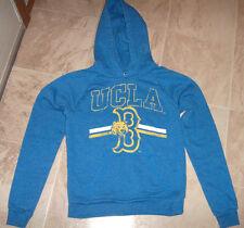 RECYCLED KARMA UCLA BRUINS JOE BRUIN LOGO BLUE PULLOVER HOODIE S SM