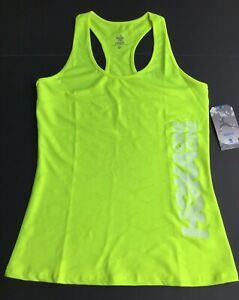 HOKA ONE ONE Women's Tank Shirt Safety Yellow NEW