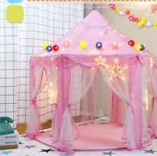 Play House Kids Tent Toy Ball Pool Princess Castle Folding Playtent Baby