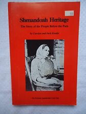 Shenandoah Heritage Story of Mountain People Before the Park Vintage Photos