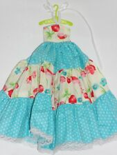 ABITO VESTITO  PER BLYTHE DOLL  PULLIP O CANDY CANDY  HANDMADE DRESS COUNTRY