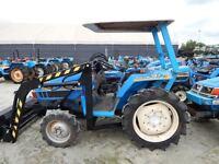Frontlader mit Schaufel  Traktor Kubota Iseki Yanmar alle Teile Anbau