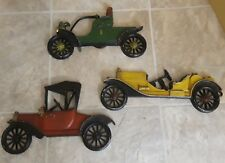 3 Sexton Vintage Diecast Metal Cars Wall Hanging