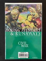 CIVIL WAR YOUNG AVENGERS & RUNAWAYS #3 MARVEL COMICS 2006 VF+