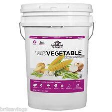 Augason Farms Freeze Dried Vegetable Variety Pack - 3 lb., 5.8 oz Pail Emergency