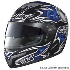 Nolan N-84 NCOM VPS Full Face Helmet Blade Black/Blue XS 53-54 cm Made in Italy