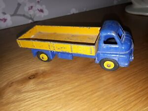 Vintage Dinky Toys 522 Big Bedford Lorry Truck Blue/Yellow 1950s Original