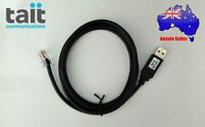 TAIT 8-Pin USB Programming Cable.