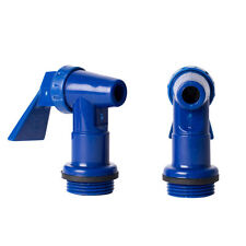 NEW 20mm Blue Snap Tap plastic beer cider home brew water jerry can
