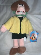 """Wallace And Gromit Wenolene Soft Toy Plush 14"""""""
