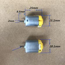 Micro 130 Motor DC 1.5V-4.5V 3V 10000RPM High Speed Carbon Brush For Toy/Boat
