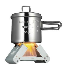 ESBIT cooking stove Bushcraft Small foldable camp Cooker Pocket 2x27g solid fuel