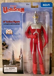 MEGO 8 inch Ultraman Ultraseven Action figure in stock ships now!
