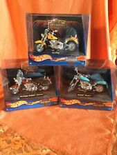 Harley Davidson Hot WHeeLs Lot Complete Set Of Three