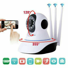 1080P HD WiFi Wireless Camera Home CCTV Security System Network Night Vision IR