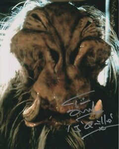 """SALE! Tim Dry in person signed 10"""" x 8"""" photo - Star Wars - J'Quille - Q052"""