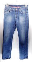 Tommy Hilfiger Madison Straight Fit W32 L34 blau Herren Men Jeans Hose Denim VTG