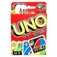UNO WILD CARD GAME Great Family Fun Children Adult Friend Travel Party UK Seller