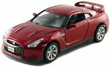 "Brand New 5"" Kinsmart 2009 Nissan GT-R R35 Diecast Model Toy Car 1:36 Red"