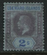 Leeward Islands KGV 1922 2/ used wmk multiple Script CA