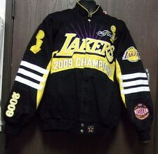 G-III Carl Banks Wool Leather NBA LOS ANGELES LAKERS Champions Jacket Sz XL