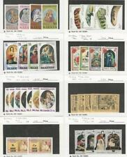 St. Lucia, Postage Stamp, #363//849 Mint NH Sets, 1974-86 Christmas Royalty