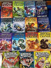 21 x Children's Adventure Books. Boy VS Beast Set, Captain Underpants, Dragons