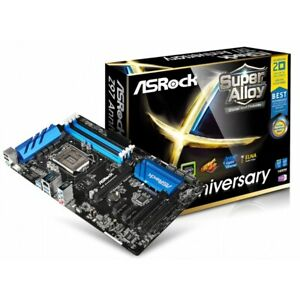ASRock Z97 Anniversary Motherboard LGA 1150 Socket H3 Intel Z97 ATX DDR3