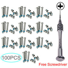"100pc Bottom Case Screws For Apple MacBook Pro 13"" 15"" 17"" A1278 A1286 A129"