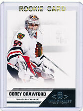RC~COREY CRAWFORD 2010-11 Panini All Goalies ROOKIE CARD~10~STANLEY CUP~ALL-STAR
