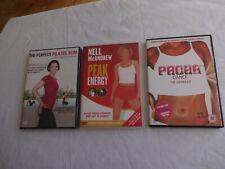 Pacha Dance The Workout DVD + CD, Peak Energy + Pilates DVD x 4 Bundle