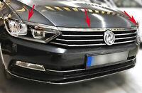 VW Passat B8 2014 onwards Chrome Head Light Upper Trim 3 pcs S.STEEL