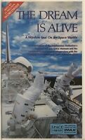 "Vintage New VHS Tape ""The Dream Is Alive"" A Window Seat on the Space Shuttle"