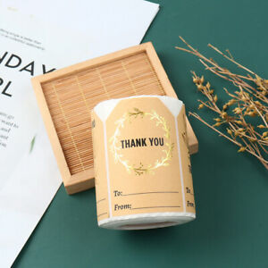 250pcs Thank You Stickers Seal Labels for Wedding Decoration Gift StickerS lp