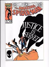 The Amazing Spider-Man #278 July 1986 Death Of The Wraith