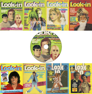 Look-In Magazine / Junior TV Times (1980-90s) 220 Issues + 11 Annuals/Sps on DVD