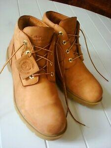 Timberland Classic Nubuck Boots 22039 Waterproof Basic Wheat Chukka Men Size 10