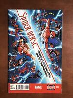 Spider-Verse #1 (2015) 8.5 VF Marvel Key Issue Comic Book Spider-Man Morales