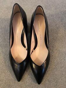 zara black Heeled shoes size 6