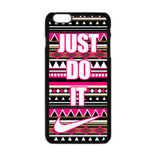 NIKE JUST DO IT PINK PATTERN IPHONE 6S PLUS CASE