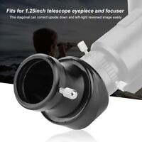 New 1.25'' 45-Degree Mirror Prism Diagonal Adapter for Telescope Eyepiece BS