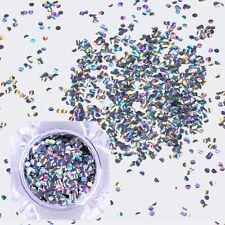 BORN PRETTY Paillettes glitter holographique hexagonal nail art manucure flakies