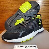 🔥 Adidas Originals Men's Nite Jogger Size 11.5 Black EG7409 New Retail $130! 🔥